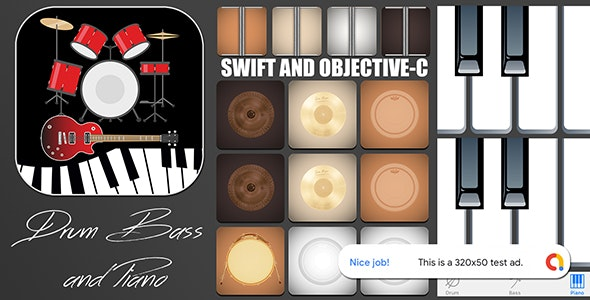 Drum and Bass App for iPhone with AdMob banner - CodeCanyon Item for Sale