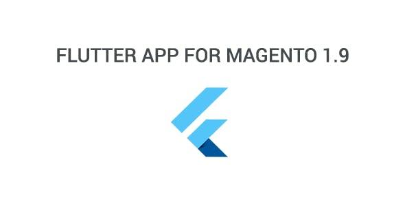 Flutter app for magento 1.9.x