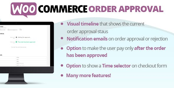 WooCommerce Order Approval
