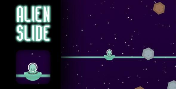 Alien Slide - HTML5 Game (CAPX)