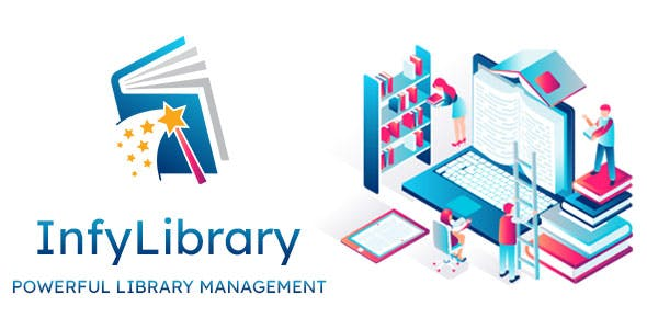 InfyLMS - Library Management System (Laravel + ReactJS)