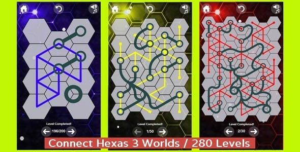Connect Hexas   HTML5 Game (capx)