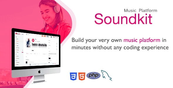 Soundkit - Social Music Sharing Platform - CodeCanyon Item for Sale