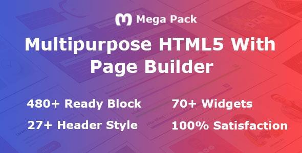 Mega Pack Multi Purpose Element Pack - CodeCanyon Item for Sale