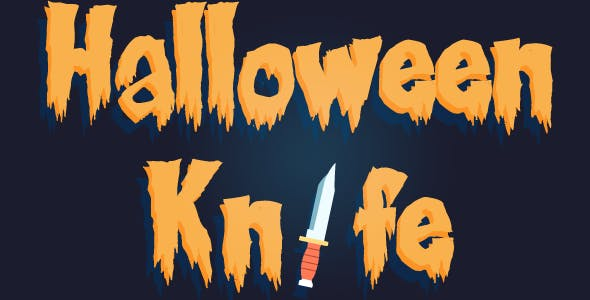Halloween Knife - HTML5 Game