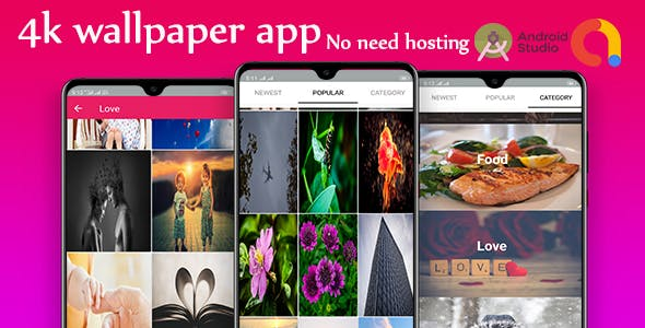 HD wallpaper Android  wallpaper app + admob