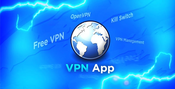 OpenVPN GUI App with Free Servers, VPN Management and Kill Switch - CodeCanyon Item for Sale