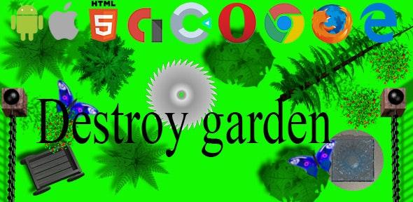 Destroy garden - CodeCanyon Item for Sale