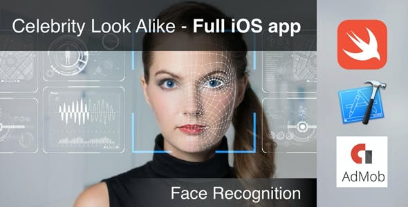 Celebrity Look Alike - Full iOS app facial recognition match to celebrity