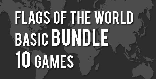Flags of the World 10 Games Bundle Basic