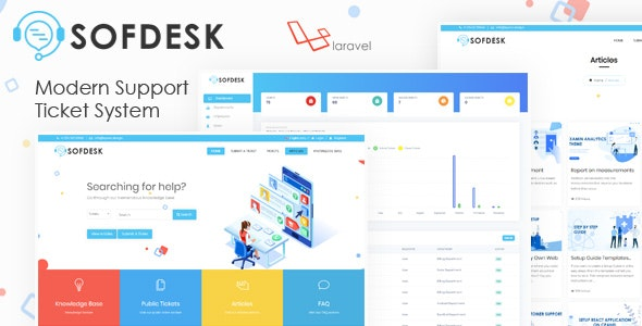 SofDesk - Support Ticket and Knowledge base script - CodeCanyon Item for Sale