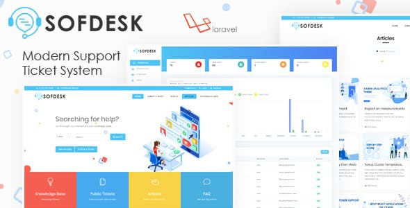 SofDesk - Support Ticket and Knowledge base script