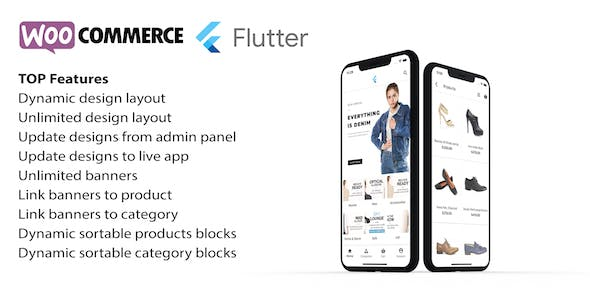 Flutter app for woocommerce