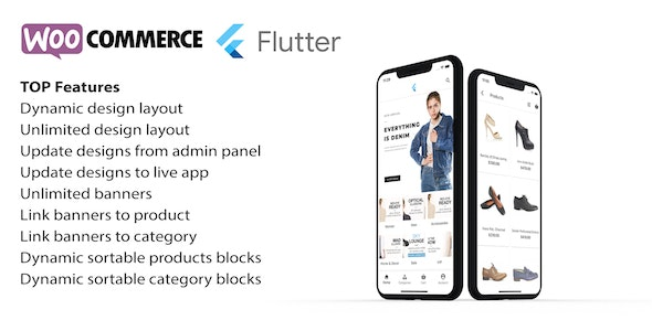 Flutter app for woocommerce - CodeCanyon Item for Sale