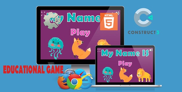 My Name Is (Educational Game) - CodeCanyon Item for Sale