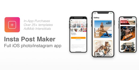 Insta Post Maker - Full iOS app to make Instagram Posts