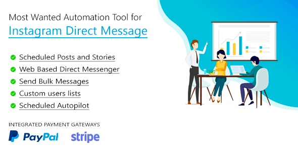 DM Pilot — Most Wanted SaaS Automation Tool for Instagram Direct Message - CodeCanyon Item for Sale