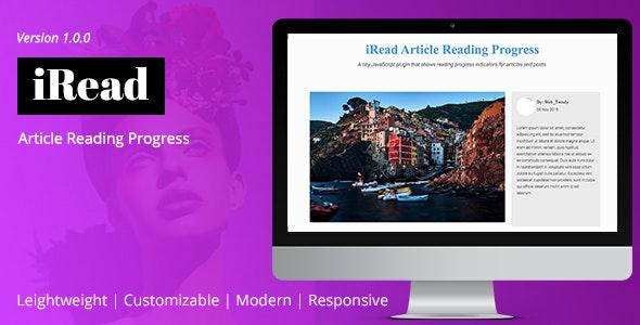 iRead Article Reading Progress - CodeCanyon Item for Sale
