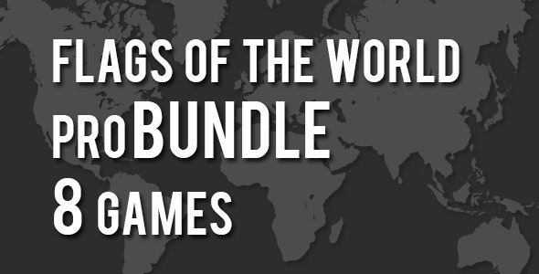 Flags of the World Pro Bundle 8 Games - CodeCanyon Item for Sale