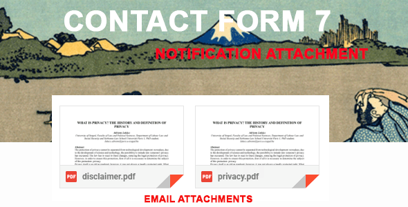 Contact Form 7 Notification Attachment - CodeCanyon Item for Sale