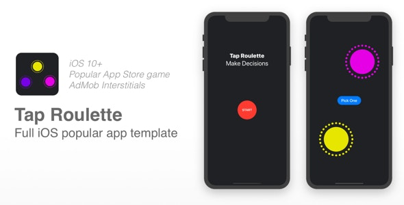 Tap Roulette - Popular Top Paid iOS game - CodeCanyon Item for Sale