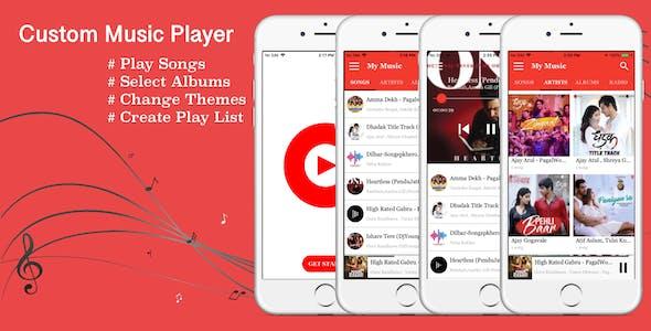 Music Player iPhone - iPad App