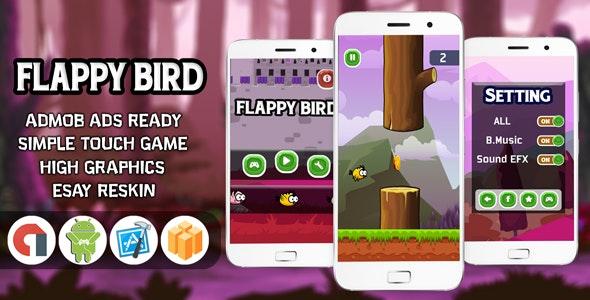 FLAPPY BIRD WITH ADMOB - ANDROID STUDIO , 2020