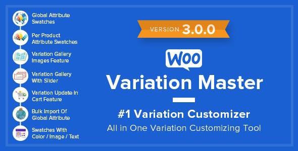 WooCommerce Variation Master