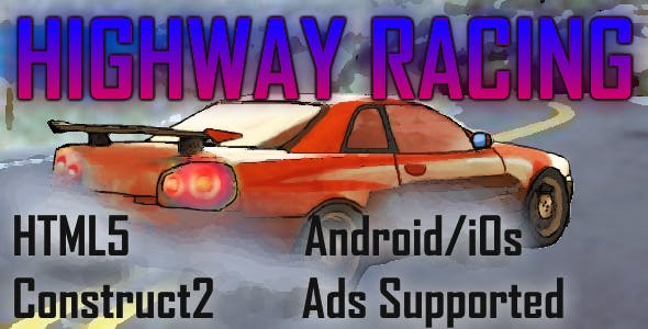 Highway Racing HTML5 Android/iOs (CAPX)