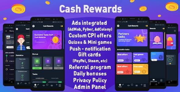 Cash Rewards - Offerwall & Rewards App