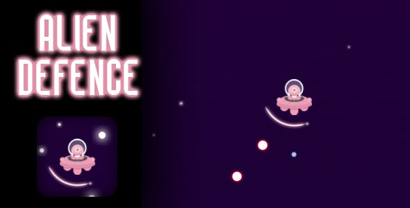 Alien Defence - HTML5 Game (CAPX)