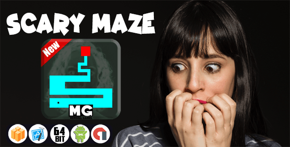 SCARY MAZE WITH ADMOB - ANDROID STUDIO