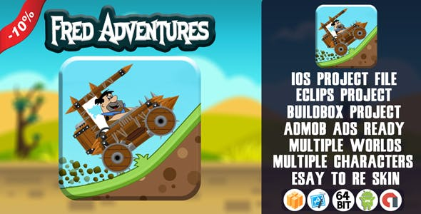 FRED ADVENTURES - BUILDBOX TEMPLATE (BBDOC) 2.3.8