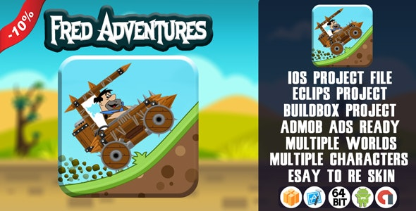 FRED ADVENTURES - BUILDBOX TEMPLATE (BBDOC) 2.3.8 - CodeCanyon Item for Sale