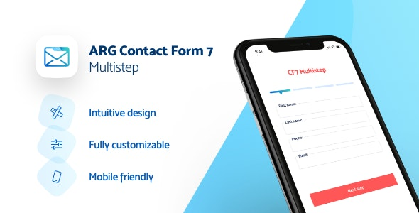 ARG Contact Form 7 Multi Step - CodeCanyon Item for Sale