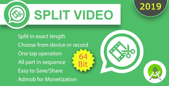 Split Video for Whatsapp