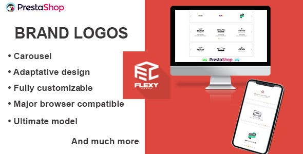 Flexy Brand Logos Carousel for PrestaShop