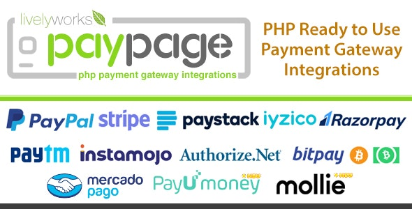 Gateway Auto Sales >> Paypage Php Ready To Use Payment Gateway Integrations By