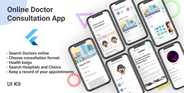 Doctor Consultation App with Web Admin Panel and CMS - CodeCanyon Item for Sale