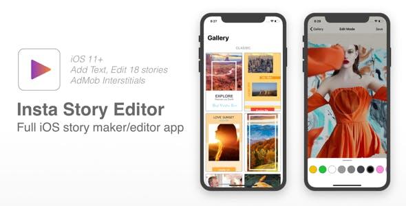 Insta Story Editor - Full iOS story maker for Instagram