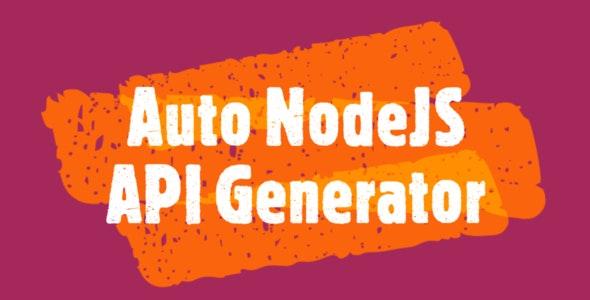 NodeJS Automatic API Generator from MySQL Database (Ultimate Edition) - CodeCanyon Item for Sale