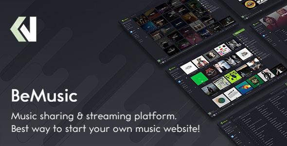 BeMusic v2.5.1 – Music Streaming Engine