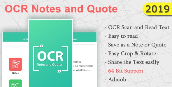 OCR Notes and Quotes - CodeCanyon Item for Sale
