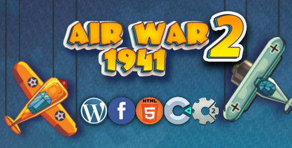Air War2: 1941 - html 5 game, capx - CodeCanyon Item for Sale
