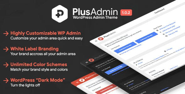 PLUS Admin Theme - WordPress White Label Branding Admin Theme