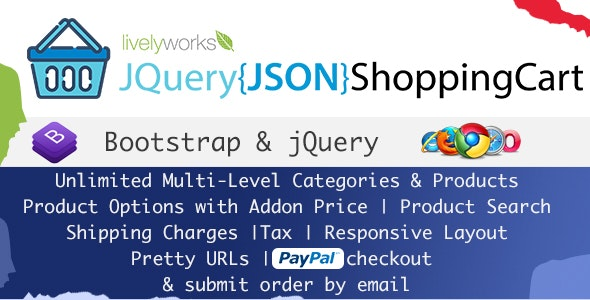 JQuery JSON Shopping Cart - Store - Shop - CodeCanyon Item for Sale