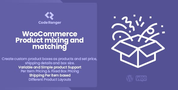 WooCommerce Product Mixing Matching
