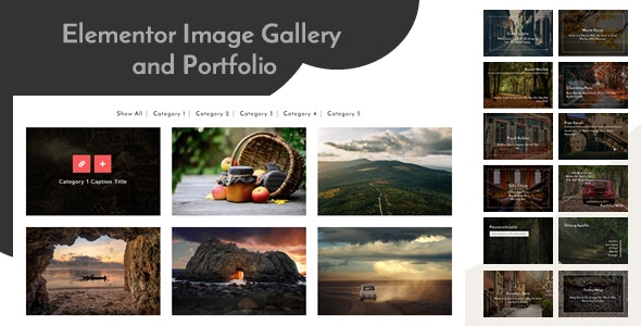 Elementor Image Gallery and Portfolio - CodeCanyon Item for Sale