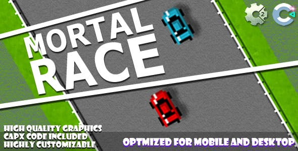 Mortal Race (C2,C3,HTML5) Game.