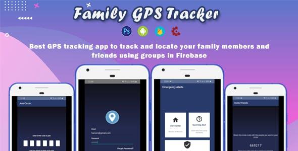 Family GPS Tracker Android [Firebase]
